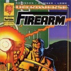 Cómics: FIREARM - ED. FORUM - COLECCION COMPLETA DE 4 NUMEROS. Lote 134831774