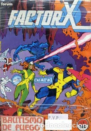 FACTOR X - ED. FORUM - 1988/95 - COLECCION COMPLETA DE 94 NUMEROS + 4 EXTRAS (Tebeos y Comics - Forum - Factor X)