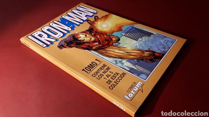 EXCELENTE ESTADO IRON MAN TOMO 1 FORUM RETAPADO 1 AL 5 (Tebeos y Comics - Forum - Retapados)
