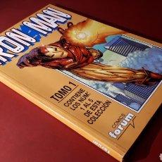 Cómics: EXCELENTE ESTADO IRON MAN TOMO 1 FORUM RETAPADO 1 AL 5. Lote 134855342