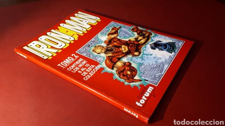 EXCELENTE ESTADO IRON MAN TOMO 2 FORUM RETAPADO 6 AL 10 (Tebeos y Comics - Forum - Retapados)