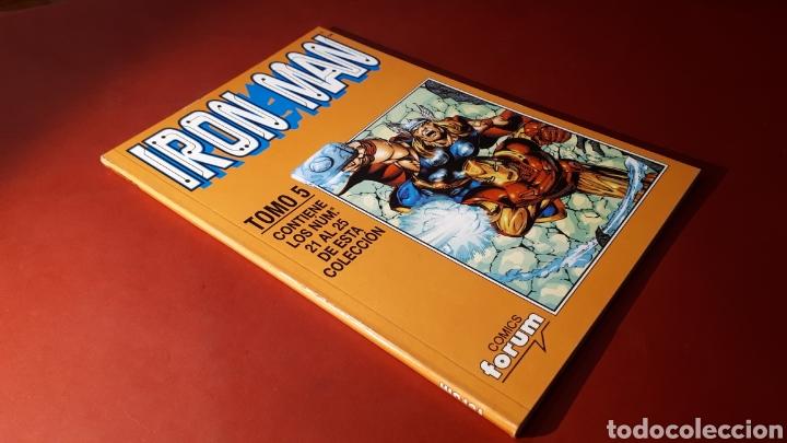 EXCELENTE ESTADO IRON MAN TOMO 5 FORUM RETAPADO 21 AL 25 (Tebeos y Comics - Forum - Retapados)
