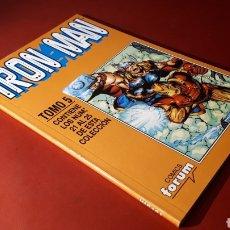 Cómics: EXCELENTE ESTADO IRON MAN TOMO 5 FORUM RETAPADO 21 AL 25. Lote 134855731