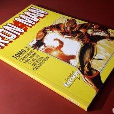 Cómics: EXCELENTE ESTADO IRON MAN TOMO 3 FORUM RETAPADO 11 AL 15. Lote 134856081