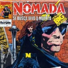Cómics: NOMADA - ED. FORUM - COLECCION COMPLETA DE 12 NUMEROS. Lote 134889574