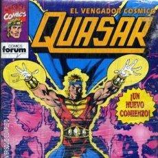 Cómics: QUASAR EL VENGADOR COSMICO - ED. FORUM - COLECCION COMPLETA DE 9 NUMEROS. Lote 134911186