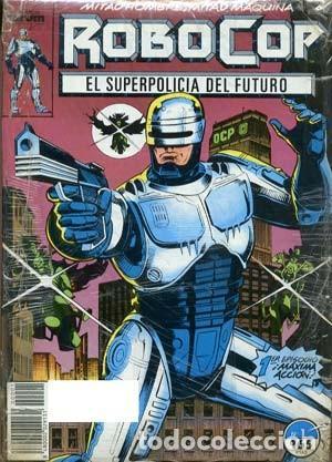 ROBOCOP SUPER POLICIA DEL FUTURO - ED. FORUM - COLECCION COMPLETA DE 23 NUMEROS (Tebeos y Comics - Forum - Otros Forum)