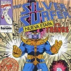 Cómics: SILVER SURGER VS THANOS - ED. FORUM - COLECCION COMPLETA DE 21 NUMEROS. Lote 134918818
