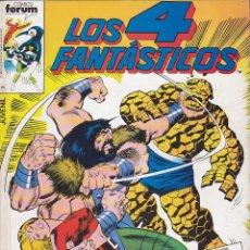 Cómics: COMIC RETAPADO LOS 4 FANTASTICOS DE LOS NUMEROS 71 AL 75 EDITORIAL FORUM . Lote 134979490