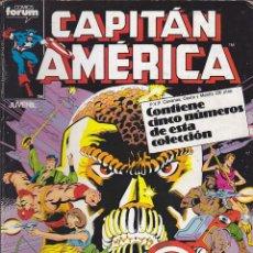 Cómics: COMIC RETAPADO CAPITAN AMERICA DE LOS NUMEROS 36 AL 40. Lote 134979794