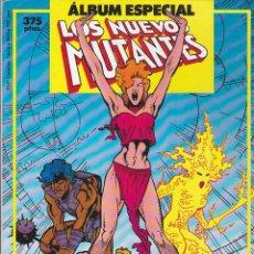 Cómics: COMIC RETAPADO LOS NUEVOS MUTANTES ALBUM ESPECIAL 2 EXTRAS. Lote 134979854