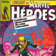 Cómics: COMIC RETAPADO MARVEL HEROES CON LOS NUMEROS DEL11 AL 15. Lote 134979942