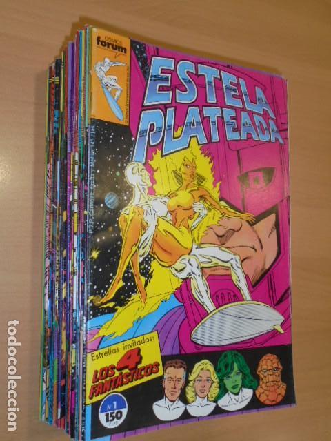 ESTELA PLATEADA VOL. 1 COMPLETA 27 NUMEROS MAS EXTRA PRIMAVERA - FORUM - (Tebeos y Comics - Forum - Silver Surfer)