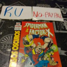 Cómics: SPIDERMAN & FACTOR X MARVEL COMICS 1 DE 3. Lote 135065538