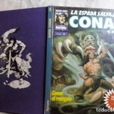 Comics : TEBEOS Y COMICS: SUPER CONAN Nº 4 - LA ESPADA SALVAJE DE CONAN. 2ª EDICION. TAPA DURA (ABLN). Lote 135072118