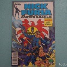Cómics: CÓMIC DE NICK FURIA CONTRA S.H.I.E.L.D. AÑO 1989 Nº 1 CÓMICS FORUM LOTE 1 G. Lote 135080282