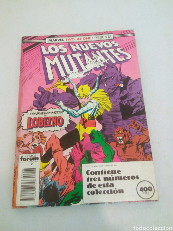 LOS NUEVOS MUTANTES FORUM TRES NÚMEROS DEL N° 250 AL 253 (Tebeos y Comics - Forum - Nuevos Mutantes)