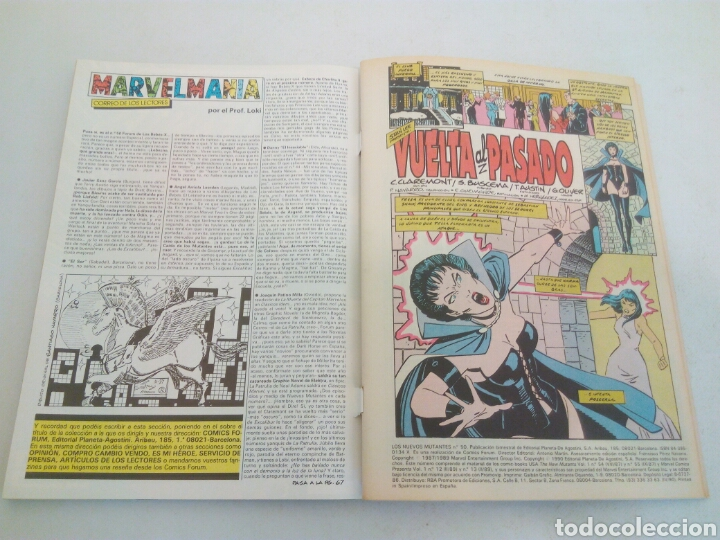 Cómics: Los nuevos mutantes forum tres números del n° 250 al 253 - Foto 3 - 135101909