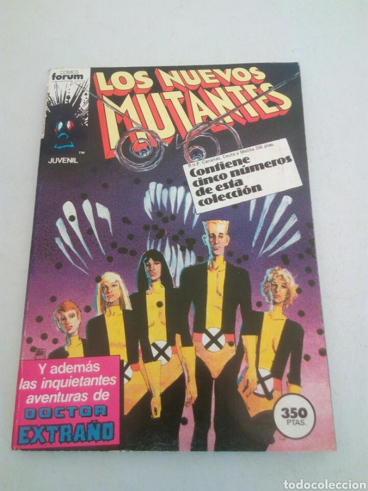 LOS NUEVOS MUTANTES FORUM CINCO NUMEROS DEL N° 21 AL 25,AÑO 1987 (Tebeos y Comics - Forum - Nuevos Mutantes)