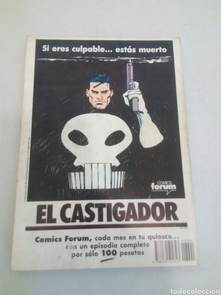 Cómics: Los nuevos mutantes forum cinco numeros del n° 21 al 25,año 1987 - Foto 2 - 135102338