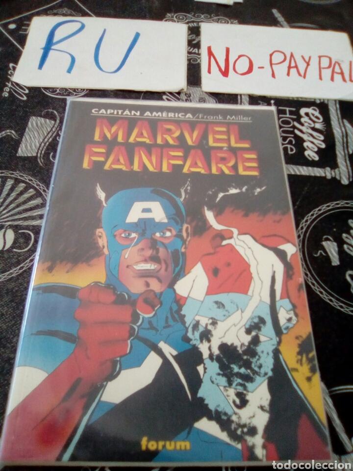 MARVEL FANFARE CAPITÁN AMÉRICA FORUM (Tebeos y Comics - Forum - Otros Forum)