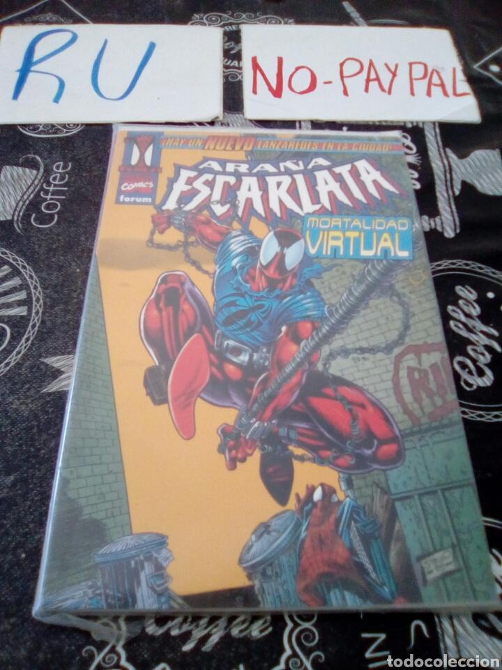 ARAÑA ESCARLATA 1 MORTALIDAD VIRTUAL FORUM (Tebeos y Comics - Forum - Otros Forum)