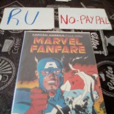 Cómics: MARVEL FANFARE CAPITÁN AMÉRICA FORUM. Lote 135195126