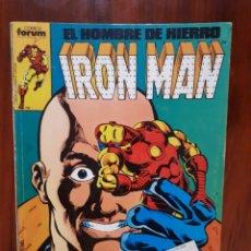 Cómics: IRON MAN - EL HOMBRE DE HIERRO - MARVEL COMICS - COMICS FORUM - RETAPADO - 5 NUMEROS - DIFICIL. Lote 44902530