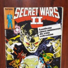Cómics: SECRET WARS II - GUERRAS SECRETAS - MARVEL COMICS - COMICS FORUM - RETAPADO - 5 NUMEROS - DIFICIL. Lote 44906177
