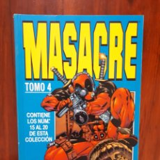 Cómics: MASACRE - DEADPOOL - TOMO 4 - MARVEL COMICS - FORUM - RETAPADO. Lote 74463151