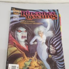 Cómics: RINCONES OSCUROS : CAPA Y PUÑAL / GARGOLA Y MORBIUS - STRANGE TALES/ MARVEL FORUM. Lote 135314302