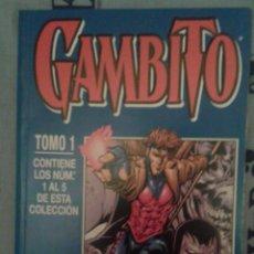 Cómics: GAMBITO: TOMO CON LOS 5 PRIMEROS NÚMEROS: FORUM. Lote 135370458