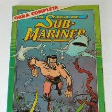 Comics: LA SAGA DE SUBMARINER. NAMOR. OBRA COMPLETA. TOMO FORUM.. Lote 135448686
