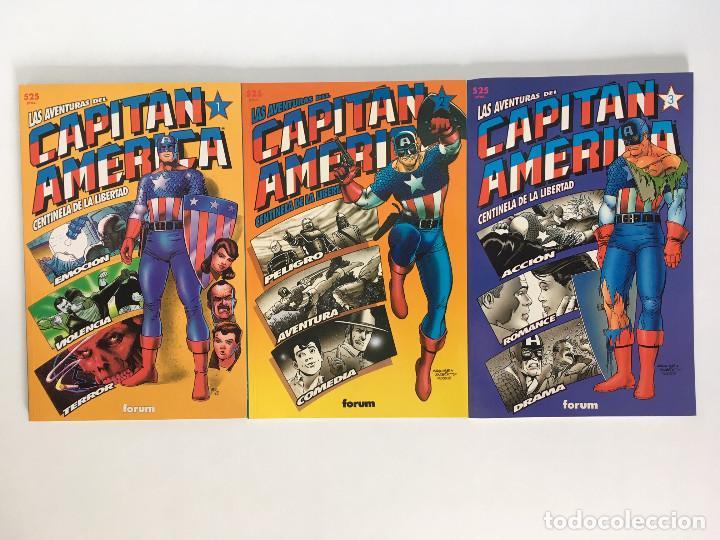 LAS AVENTURAS DEL CAPITAN AMERICA, CENTINELA DE LA LIBERTAD 1, 2 Y 3 DE NICIEZA Y MAGUIRE. FORUM (Tebeos y Comics - Forum - Capitán América)