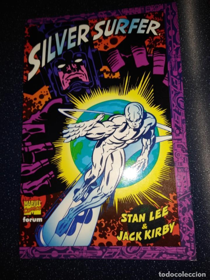 SILVER SURFER STAN LEE JACK KIRBY (Tebeos y Comics - Forum - Silver Surfer)