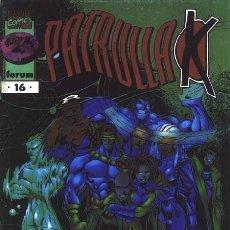 Cómics: LA PATRULLA X Nº 16 VOLUMEN 2 (FORUM). Lote 135561202