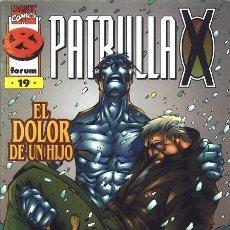 Cómics: LA PATRULLA X Nº 19 VOLUMEN 2 (FORUM). Lote 135561346