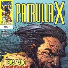 Cómics: LA PATRULLA X Nº 60 VOLUMEN 2 (FORUM). Lote 135562506