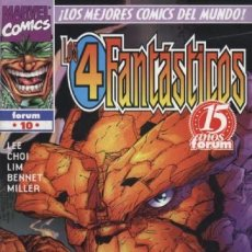 Comics: 4 FANTASTICOS HEROES REBORN Nº 10 - FORUM - BUEN ESTADO. Lote 146313374