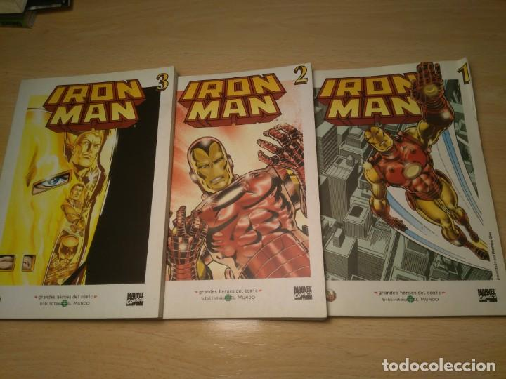 LOTE DE 3 COMICS DE IRON MAN (Tebeos y Comics - Forum - Iron Man)