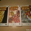 Cómics: LOTE DE 3 COMICS DE IRON MAN. Lote 135622362