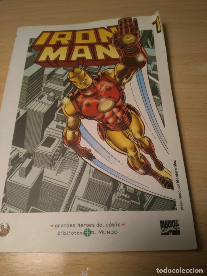 Cómics: lote de 3 Comics de Iron Man - Foto 2 - 135622362
