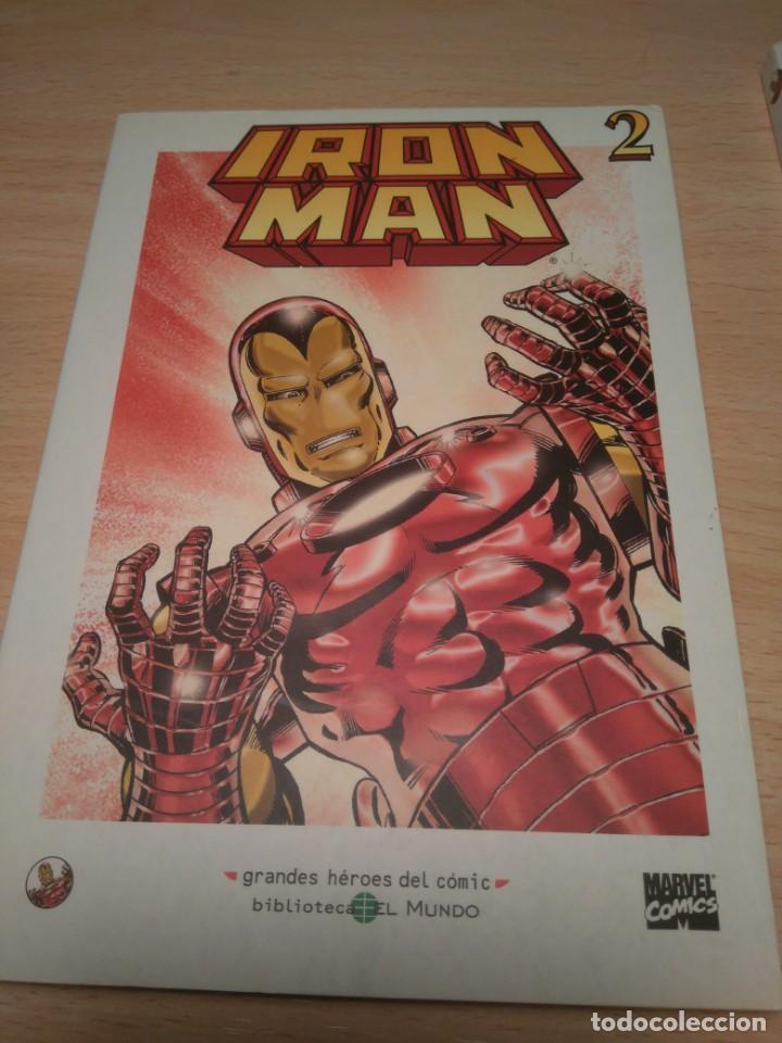 Cómics: lote de 3 Comics de Iron Man - Foto 3 - 135622362