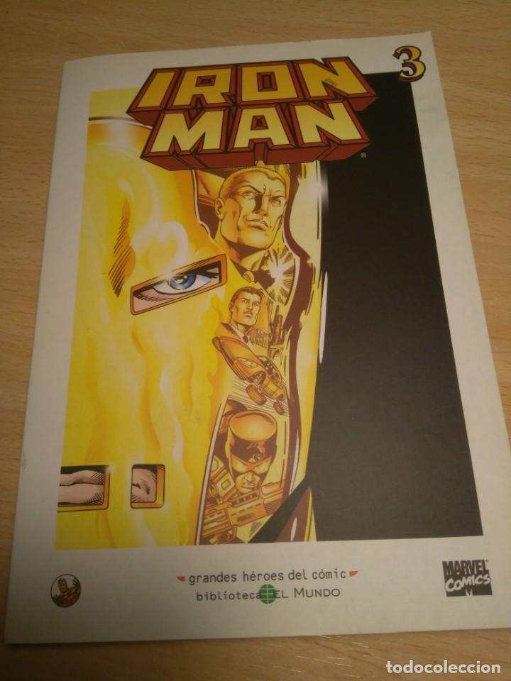 Cómics: lote de 3 Comics de Iron Man - Foto 4 - 135622362