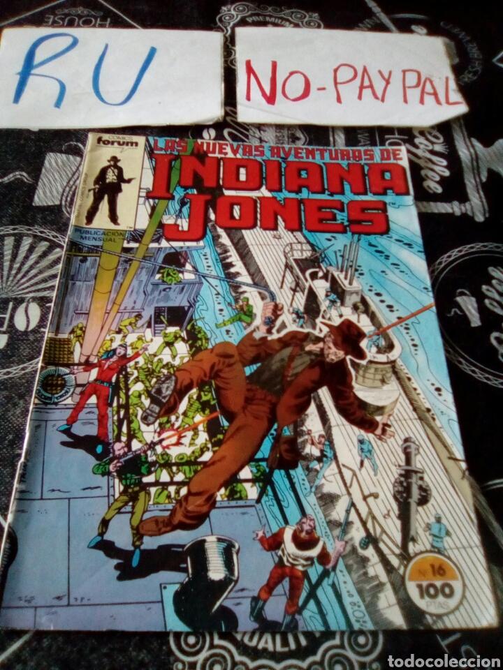 LAS AVENTURAS DE INDIANA JONES 16 FORUM (Tebeos y Comics - Forum - Otros Forum)