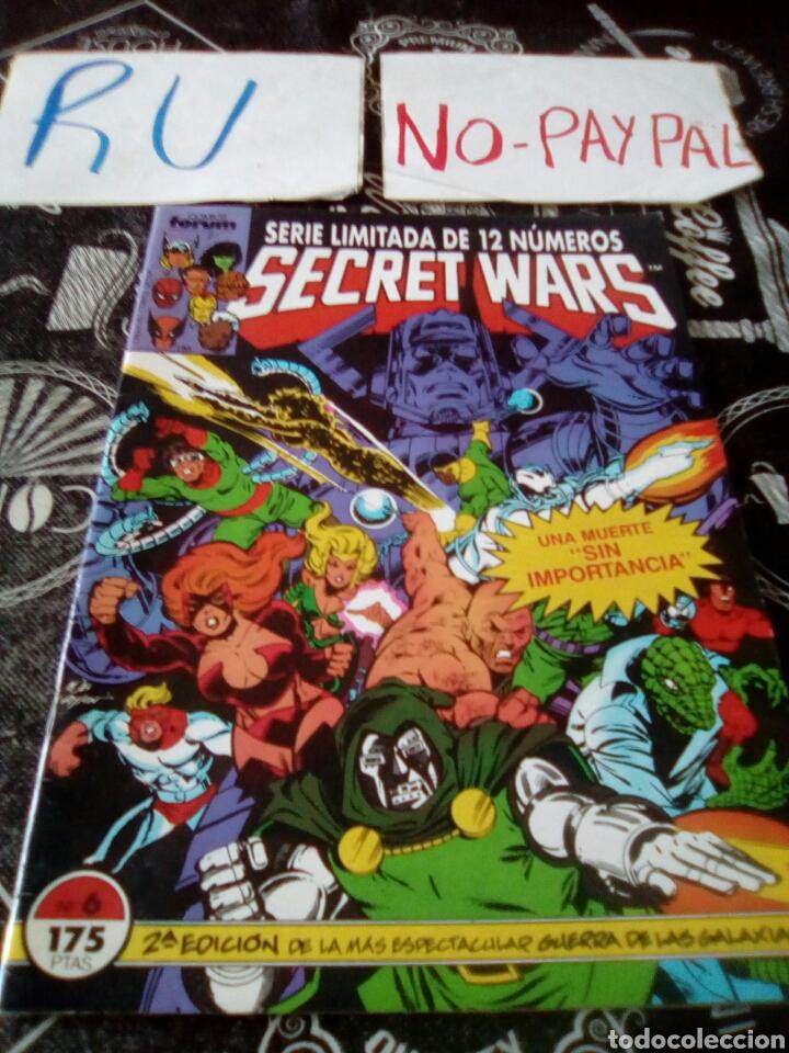 SECRET WARS 6 FORUM (Tebeos y Comics - Forum - Otros Forum)