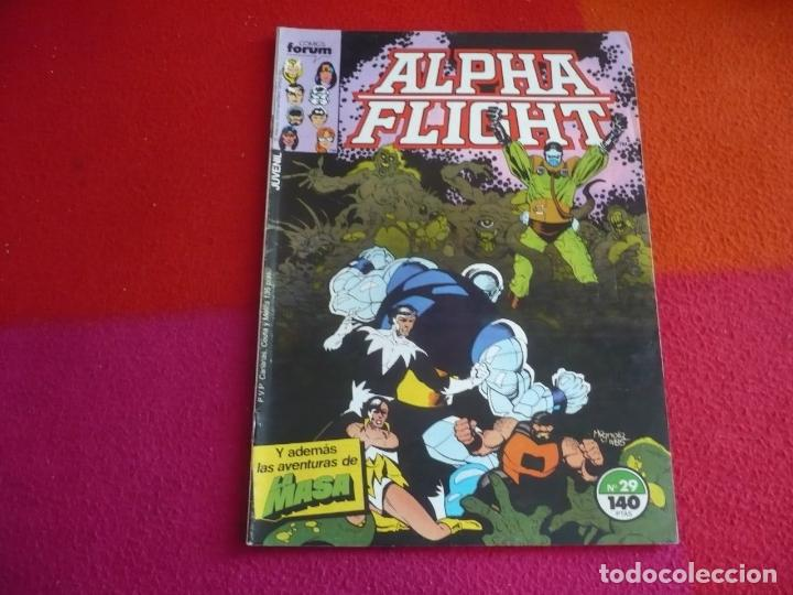 ALPHA FLIGHT VOL. 1 Nº 29 ( MANTLO MIGNOLA ) ¡BUEN ESTADO! FORUM MARVEL HULK (Tebeos y Comics - Forum - Alpha Flight)
