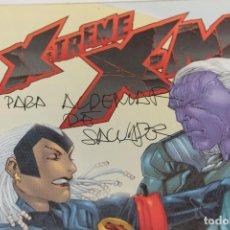 Cómics: XTREME X-MEN FORUM Nº12. DEDICATORIA Y AUTÓGRAFO SALVADOR LARROCA. ILUSTRADOR. MARVEL. . Lote 135713791
