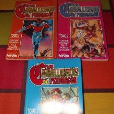 Cómics: LOS CABALLEROS DE PENDRAGON 3 TOMOS RETAPADOS (COLECCIÓN COMPLETA).. Lote 135720471
