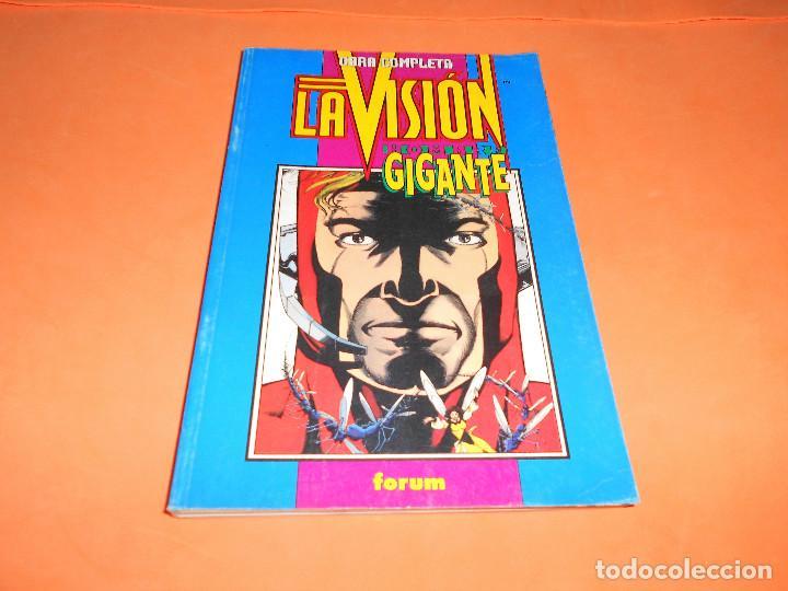 VISIÓN - EL HOMBRE GIGANTE . RETAPADO. DOS SERIES COMPLETAS) - FÓRUM 1995 (Tebeos y Comics - Forum - Retapados)